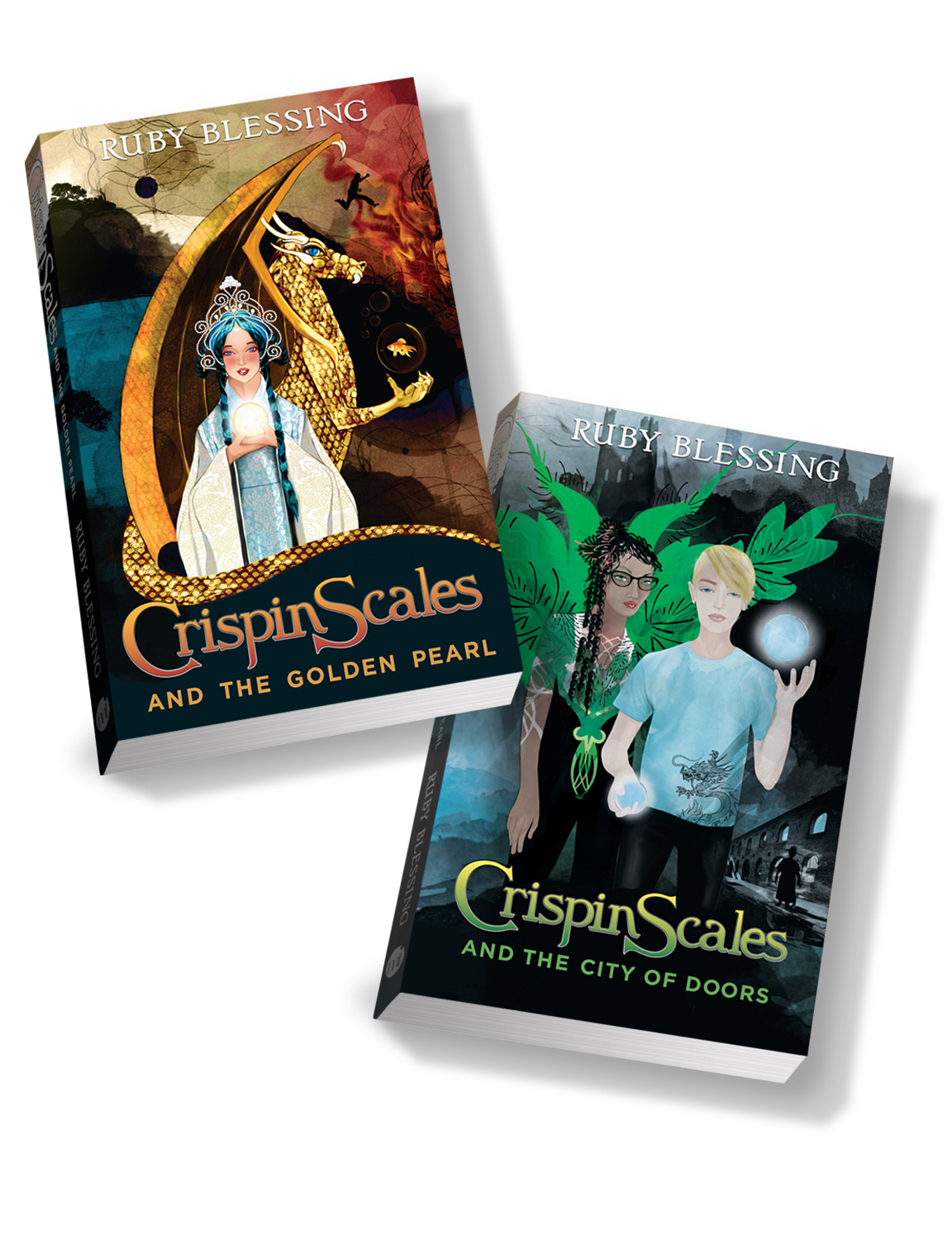 Crispin Scales Book 1 and 2
